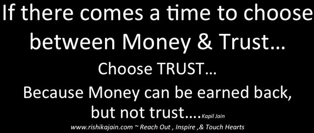 Trust - Inspirational Quotes, Pictures & Motivational Thoughts