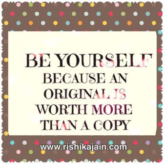 thought for the day be yourself inspirational quotes