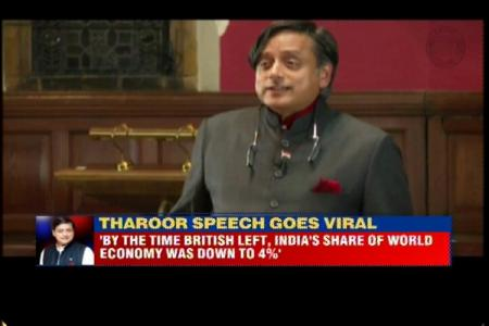 Shashi Tharoor's full speech asking UK to pay India for 200 years of its colonial rule
