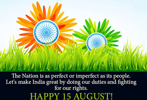 Happy 15 August,images, Inspirational Quotes, Motivational Thoughts and Pictures