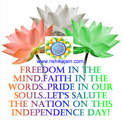 India Independence Day Quotes,images,messages