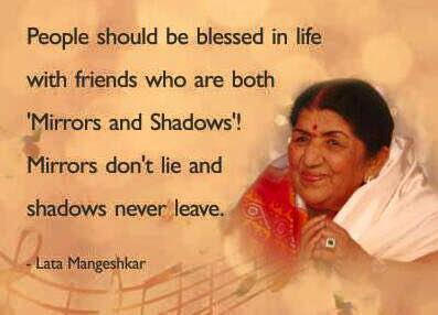 Friendship – Inspirational Quotes, Pictures and Motivational Thoughts,lata mangeshkar