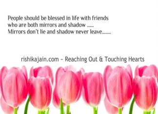 Mirrors quotes, Shadows quotes, Friends inspirational Pictures,