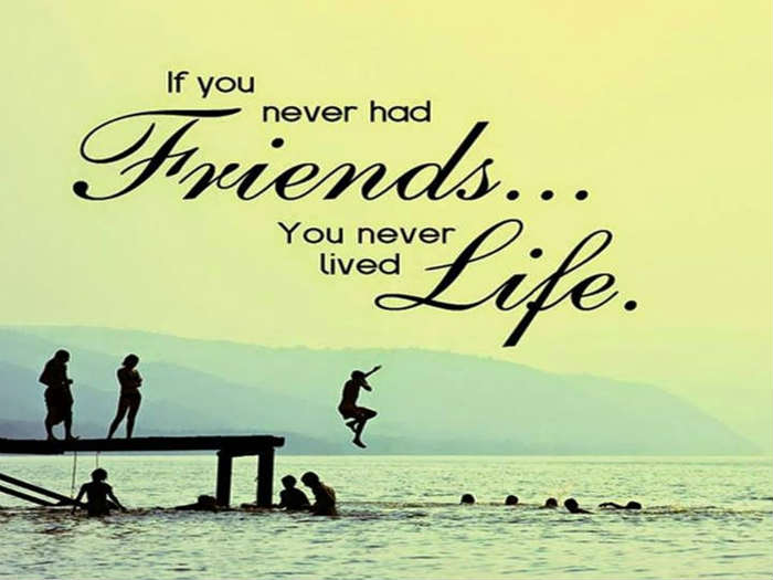Quote To Friends About Friendship Endearing 10 Lovely Collection Of Quotes For Friends Inspirational
