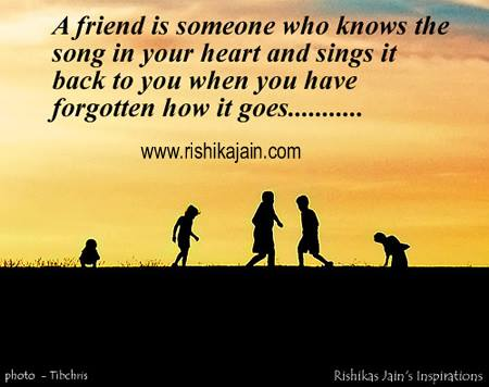 Friendship - Inspirational Quotes, Pictures and Motivational Thoughts.