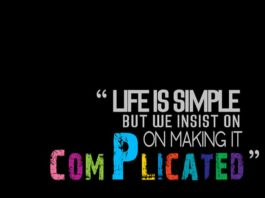 Simplify Life, Minimalistic quotes, uncomplicated life quotes, inspirational pictures