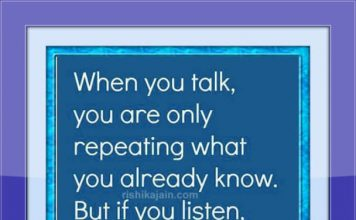 Good Morning Wishes, Thought for the day, Listen , Learn