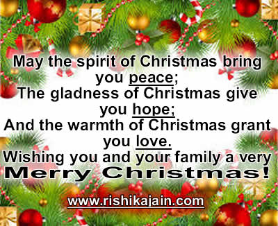 MERRY CHRISTMAS & HAPPY NEW YEAR GREETINGS | Daily Inspirations for ...