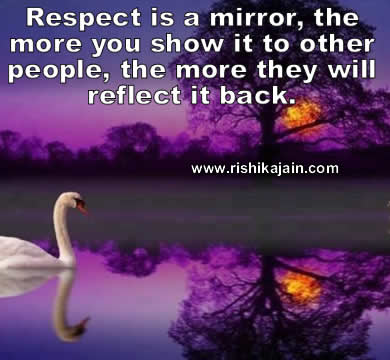 Respect, Inspirational Quotes, Motivational Thoughts and Pictures