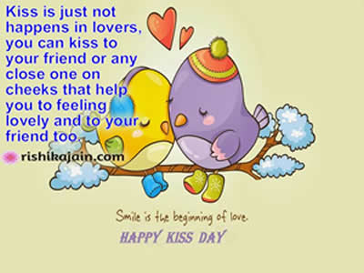 Happy Kiss Day Quotes, Messages, Wishes, Greetings, images,kiss day with mother,,friend