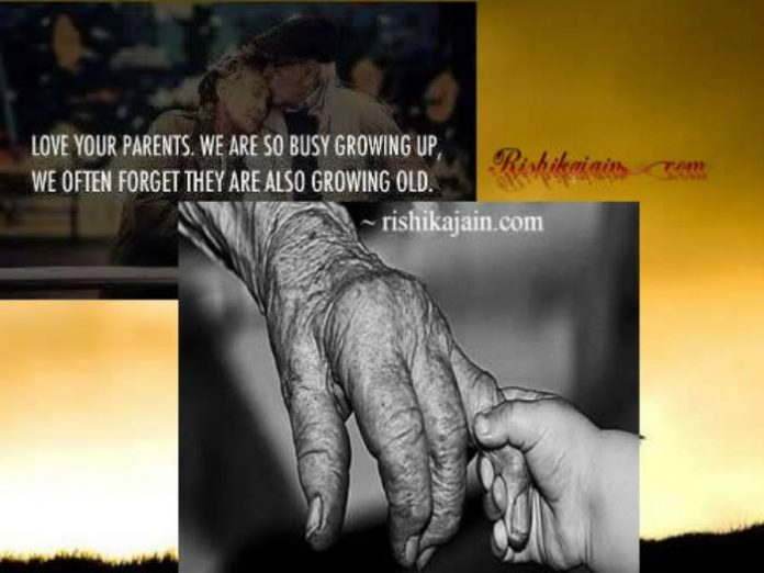 beautiful thoughts of life love your parents