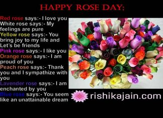Rose day messages,Quotes,Images