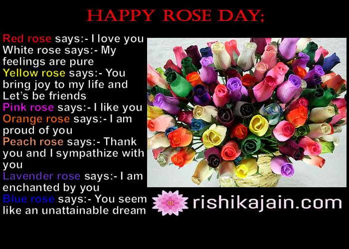 Bunch Of Roses For My Love Happy Rose Day Inspirational Quotes
