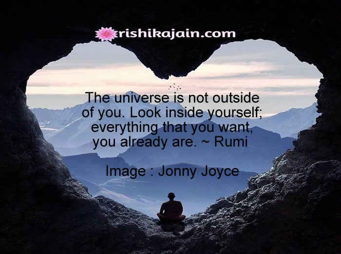 Very Inspiring Quote For The Day..The Universe Is Not