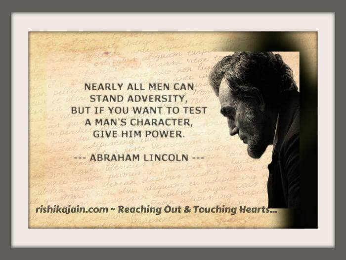 Famous quotes of Abraham Lincoln, Inspirational Pictures, Motivational Thoughts , Good Morning wishes, Monday Motivations
