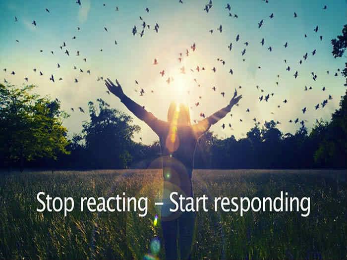 Self-development Response Vs Reaction