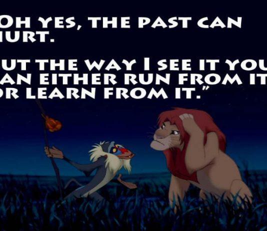 Monday Motivations, Past present future quotes, Lion King quotes, Lion King remake