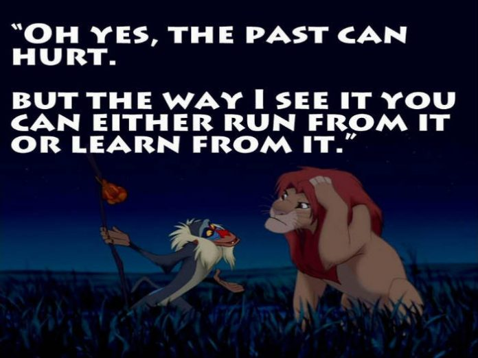 Monday Motivations, Past present future quotes, Lion King quotes, Lion King remake
