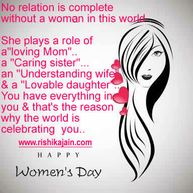 Happy Women's Day Quotes,thoughts,images ,messages