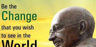 Top ten famous Mahatma Gandhi Quotes