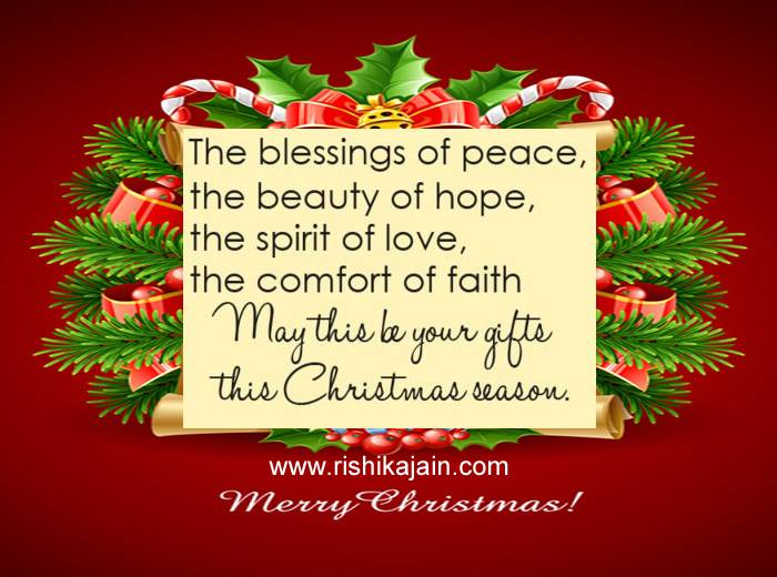 Christmas Thoughts.My Christmas Blessings For You Inspirational Quotes