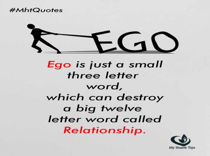 ego, Inspirational Quotes, Pictures and Motivational Thoughts