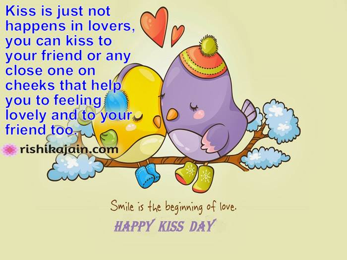 Happy kiss Day whatsapp status,messages,quotes,images