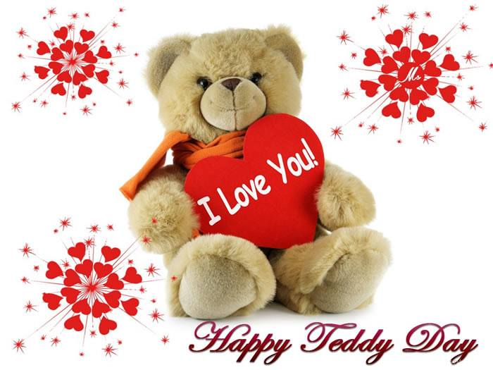 Happy Teddy Bear Day whatsapp status,messages,quotes,images