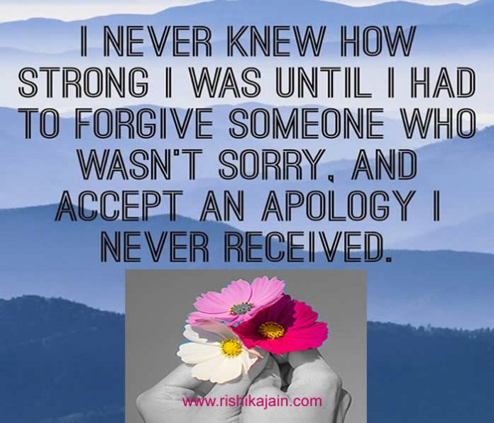 forgiveness,apology,sorry,strong,Inspirational Quotes, Motivational Quotes and Pictures