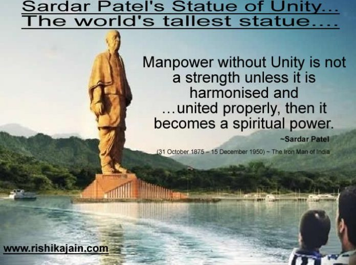 Sardar Patel's Statue of Unity...The world's tallest statue