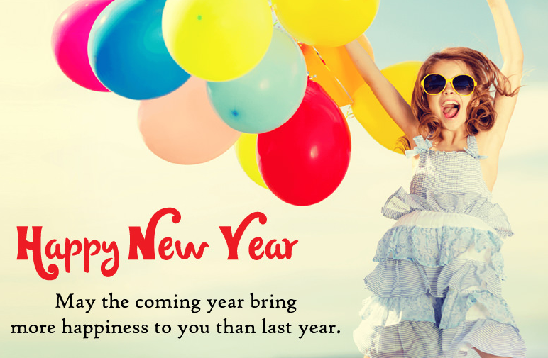 Image result for new year wishes girl