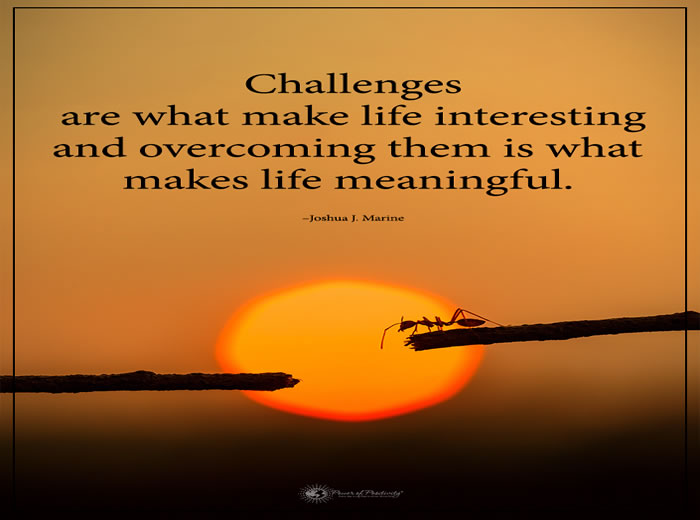 Challenges Are What Make Life Interesting Inspirational Quotes Classy Interesting Thoughts About Life