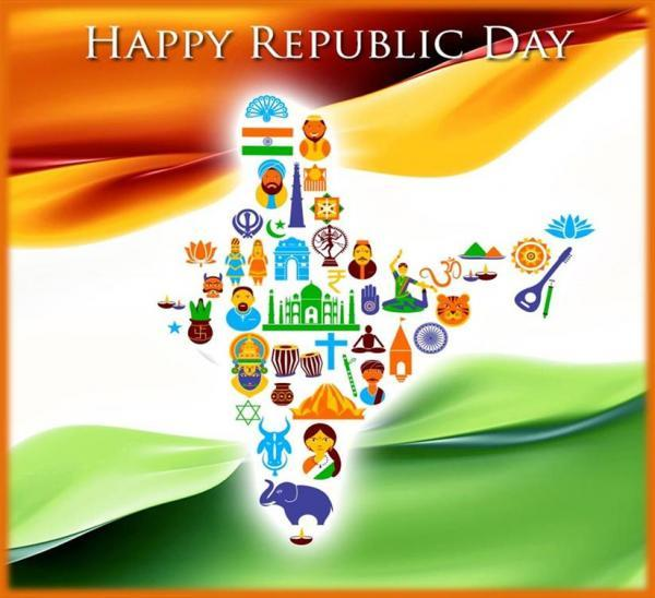 REPUBLIC DAY messages,Inspirational Quotes, Pictures and Thoughts.