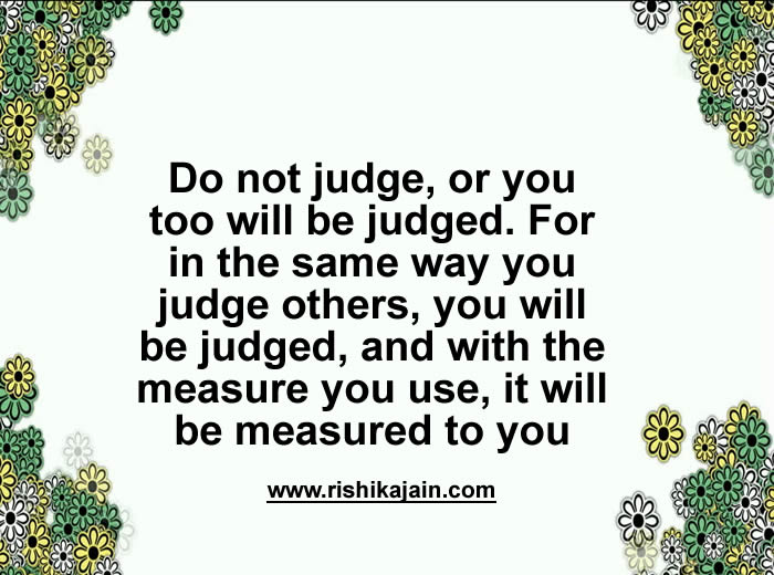 judge,Inspirational Quotes, Pictures and Motivational Thoughts