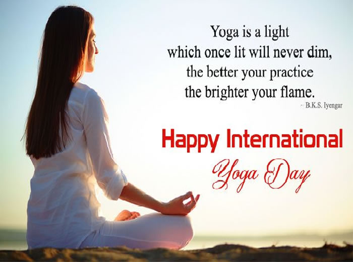 Happy International Yoga Day :June 21 ,quotes,messages,images