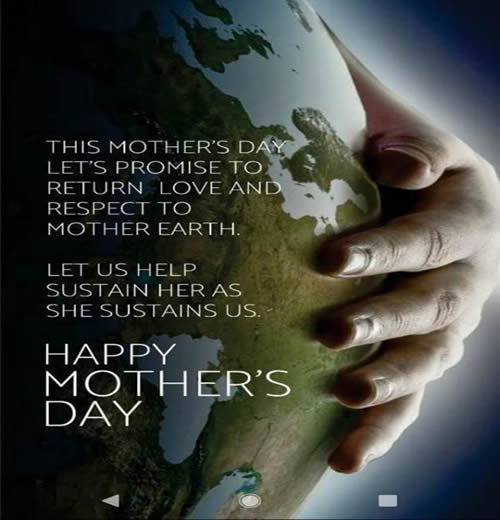 Happy Mother's Day,mother earth,Inspirational Quotes, Motivational Thoughts and Pictures