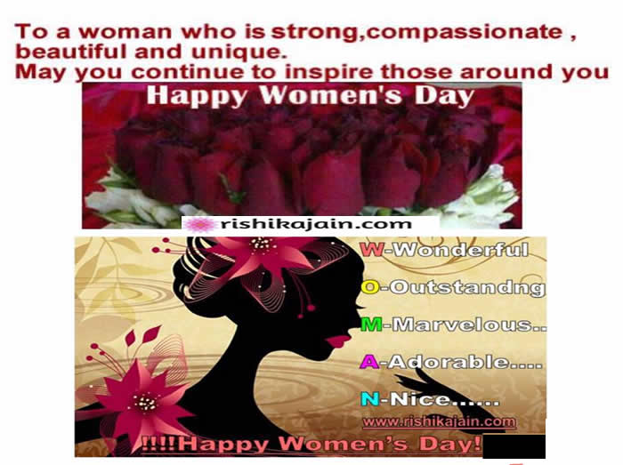 Latest Happy Women's Day,whatsapp status,messages,quotes,images