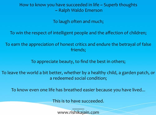 Ralph Waldo Emerson Success– Inspirational Quotes, Pictures and MotivationalThoughts.