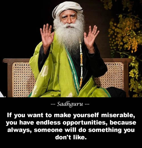 Sadhguru Quote