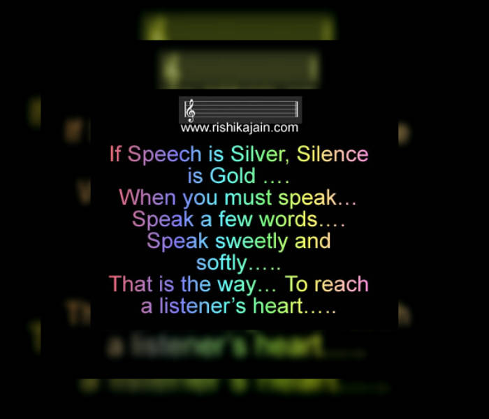 whatsapp status,Speak softly , Relationship quotes, Silence quotes, Inspirational pictures