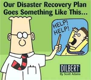 Funny Picture Of The Dayhumordilbertdisaster Plan