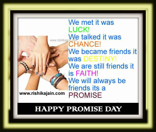 Promise Day ,friend,quotes,thoughts,cards,messages