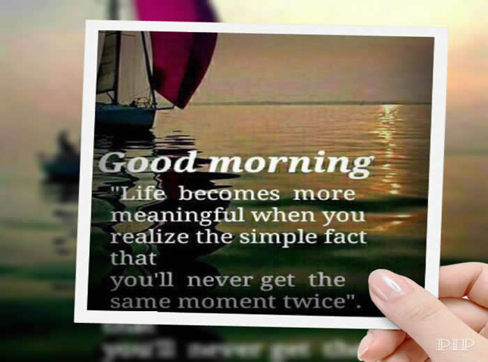 Good Morning Life Is All About Adjustments Inspirational Quotes Pictures Motivational Thoughts Reaching Out Touching Hearts