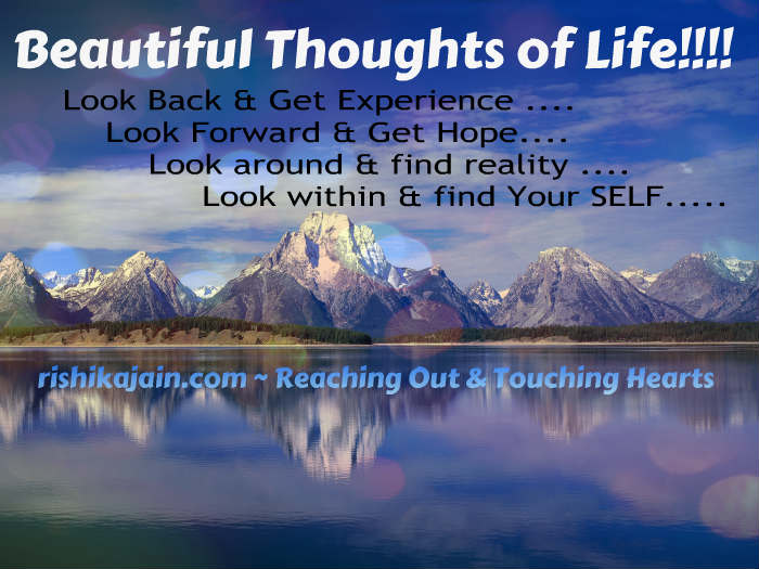 Beautiful thoughts of life, Monday Motivations, Inspirational Pictures & Lovely Quotes for the day