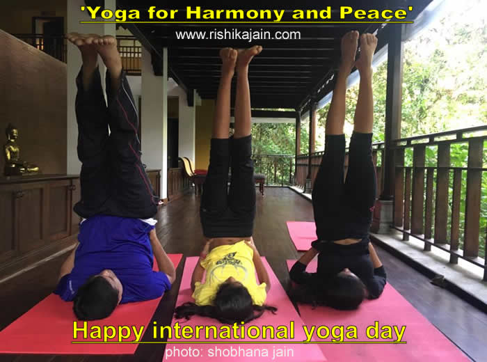 Happy International Yoga Day :June 21 'Yoga quotes,status,images