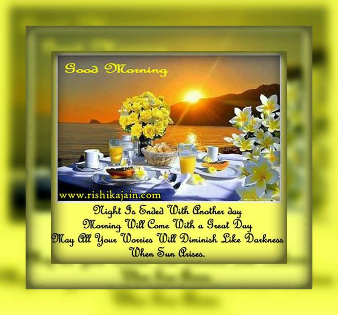 Wishes Quotes – Good Morning – Inspirational Quotes, Motivational Thoughts and Pictures .