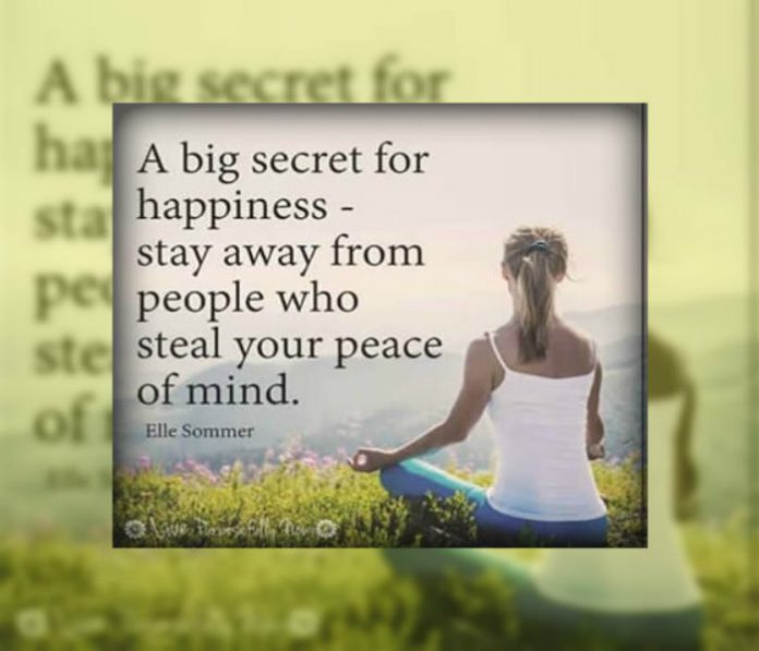 peace of mind,Happiness ,Beautiful thoughts of life – Inspirational Quotes, Motivational Thoughts and Pictures