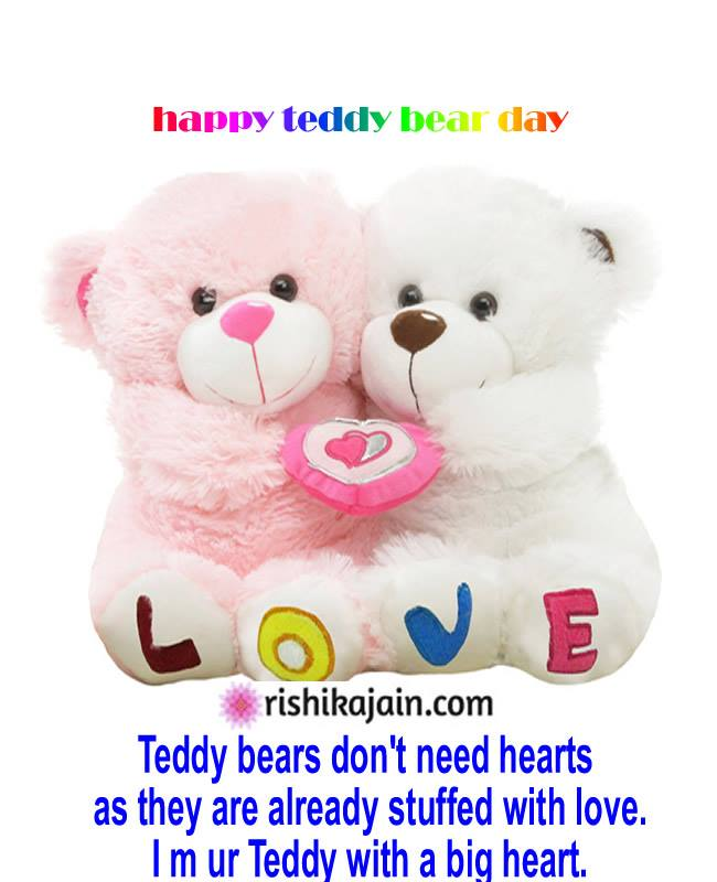 Happy Teddy Day: Best Teddy Day WhatsApp & Facebook Messages , greetings!