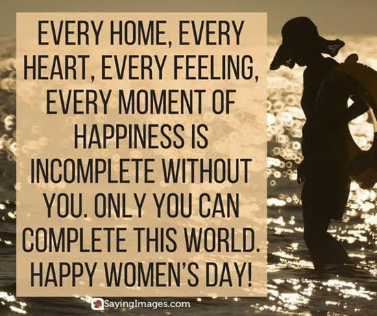 #InternationalWomensDay,Happy Women's DayQuotes, Inspirational Pictures and Thoughts.