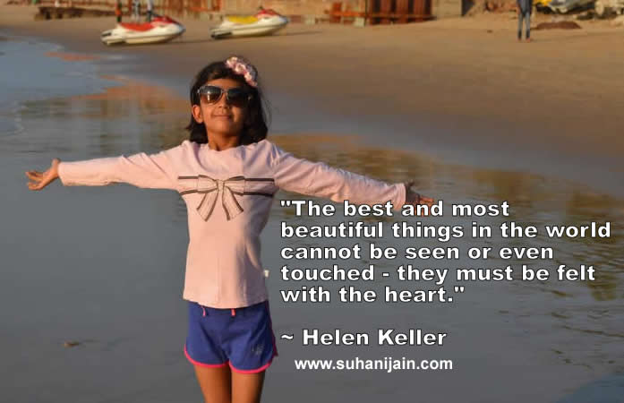 Helen Keller Quote,Good morning ,Inspirational Quotes, Motivational Pictures and Wonderful Thoughts.